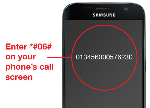 How to find your IMEI numer?